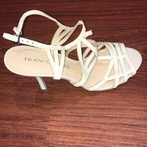 Frank Sarto White Heels